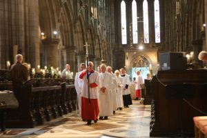 Procession through the Nave
